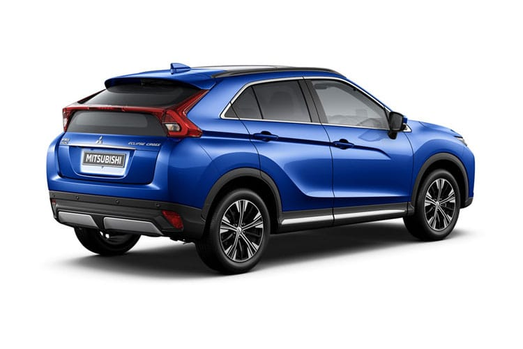 Mitsubishi Eclipse Cross SUV 1.5 T 163PS Design SE 5Dr Manual [Start Stop] back view