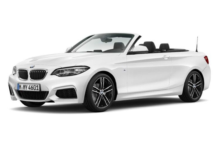 BMW 2 Series 218 Convertible 2.0 d 150PS M Sport 2Dr Manual [Start Stop] [Tech II] front view