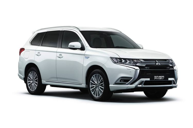 Mitsubishi Outlander PHEV SUV 2.4 h TwinMotor 13.8kWh 224PS Exceed 5Dr CVT [Start Stop] front view