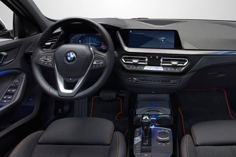 BMW 1 Series 118 Hatch 5Dr 2.0 d 150PS M Sport 5Dr Auto [Start Stop] [Pro] inside view