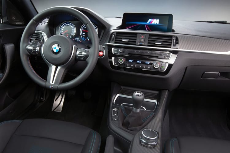 BMW 2 Series M2 Coupe 3.0 BiTurbo 410PS Competition 2Dr Manual [Start Stop] inside view